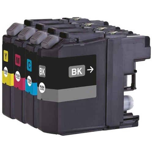 Brother LC131 Compatible B,C,M,Y Ink Cartridge Bundle