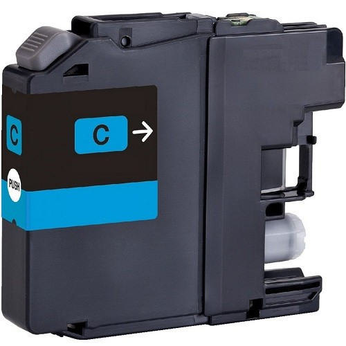 Brother LC131C Compatible Cyan Ink Cartridge