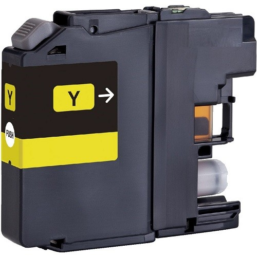 Brother LC131Y Compatible Yellow Ink Cartridge