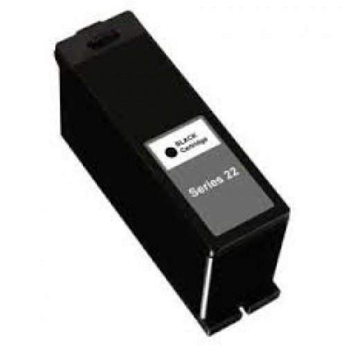 Dell Series 22, T091N, 59211401 Compatible Black High Yield Pigment Ink Cartridge