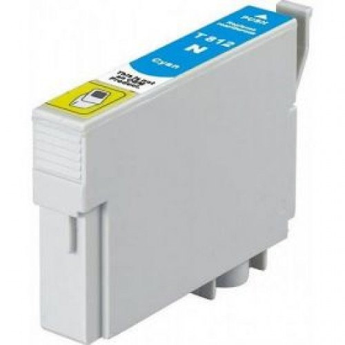 Epson C13T111292, 81N Compatible High Yield Cyan Dye Ink Cartridge