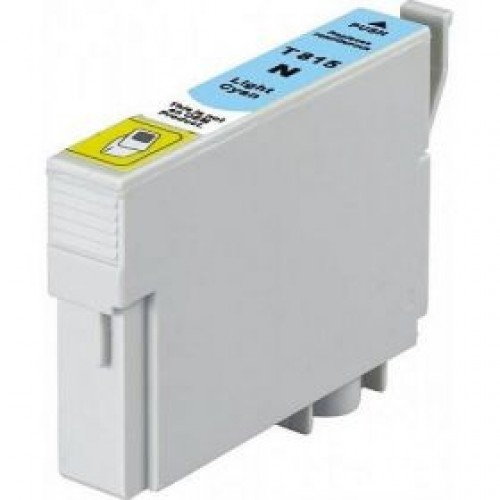 Epson C13T112592, 82N Compatible Light Cyan Dye Ink Cartridge