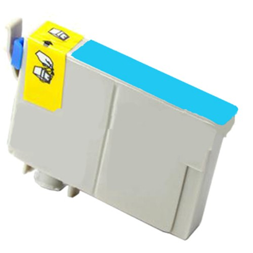 Epson C13T138292, 138 Compatible High Yield Cyan Pigment Ink Cartridge