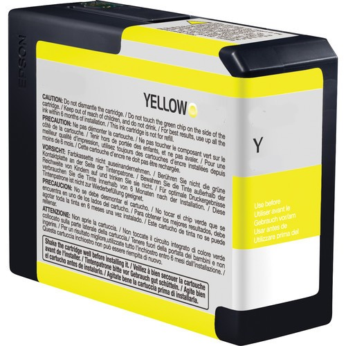 Epson C13T580400, T5804 Compatible Yellow Ink Cartridge