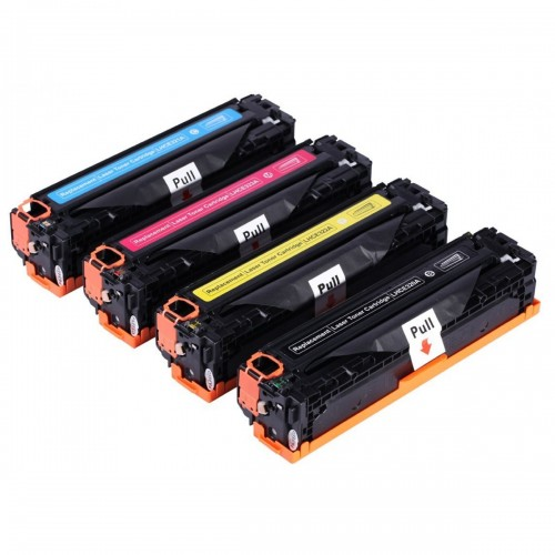 HP #128 Compatible B,C,M,Y Laser Cartridge Bundle