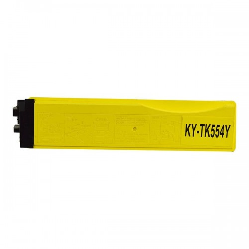 Kyocera TK544Y Compatible Yellow Laser Cartridge